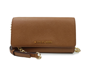 Michael Kors Jet Set Travel Wallet On Chain