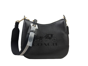 BRAND NEW Coach Black Leather Jes Hobo Bag F72702