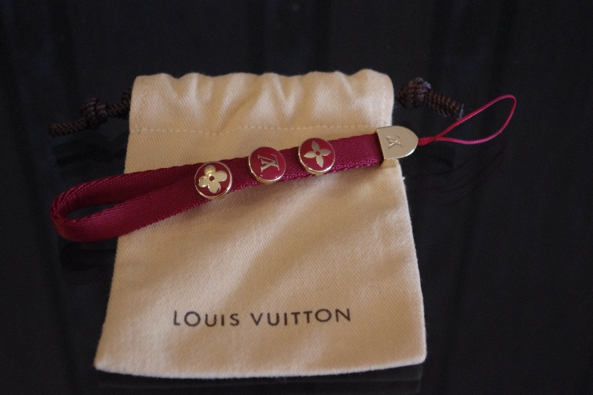 Louis Vuitton Red Phone Strap