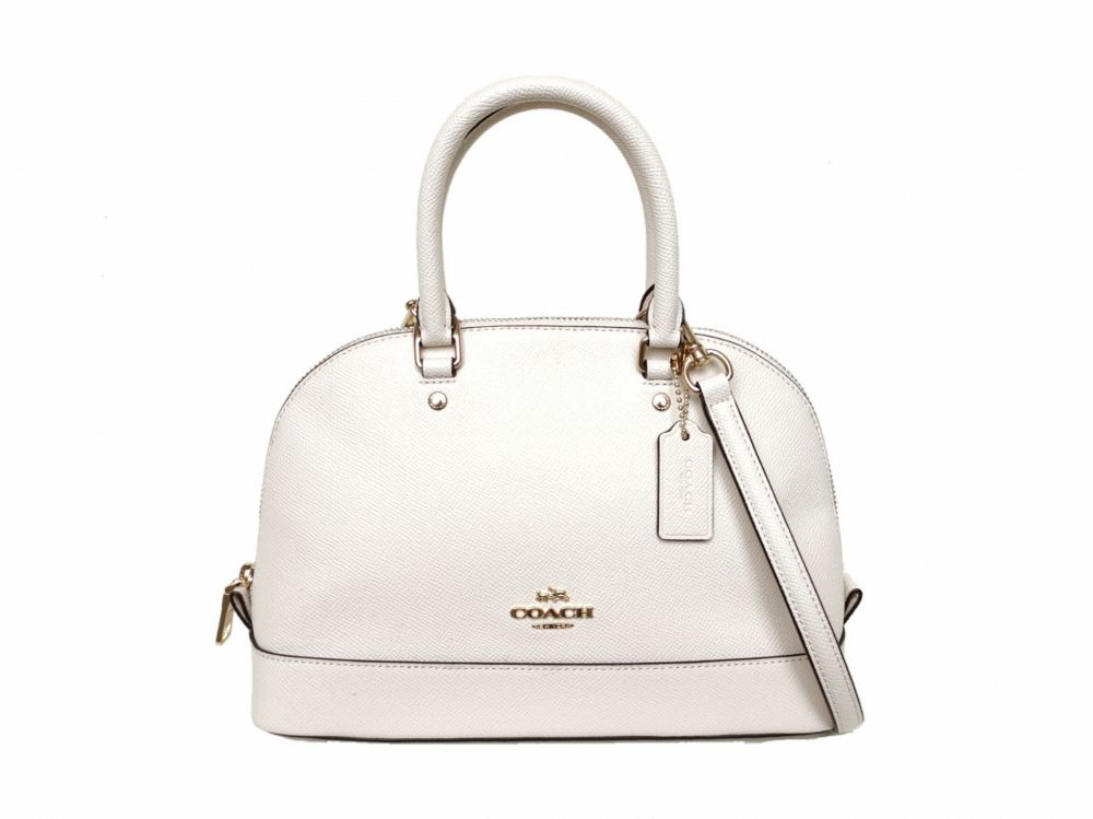 Coach Mini Sierra In Crossgrain Leather F57555